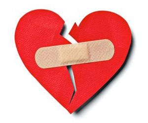 band aid heart